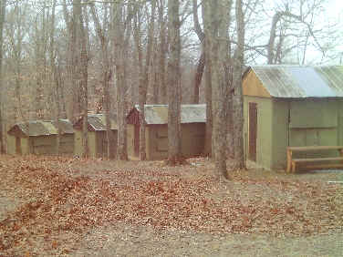 Camp rotary jan 2011 for Cinder block cabin
